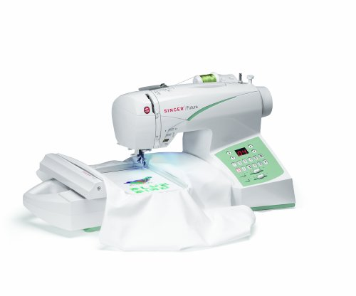 Review Of SINGER Futura CE-250 Computerized Sewing and Embroidery Machine with 2 Hoop Sizes, 100 Sit...