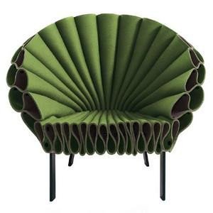 Cappellini - Peacock Armchair By Dror Benshetrit.