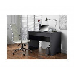 Luxor Gloss Workstation/Desk with Hidden Drawer Black       Office Productsreview