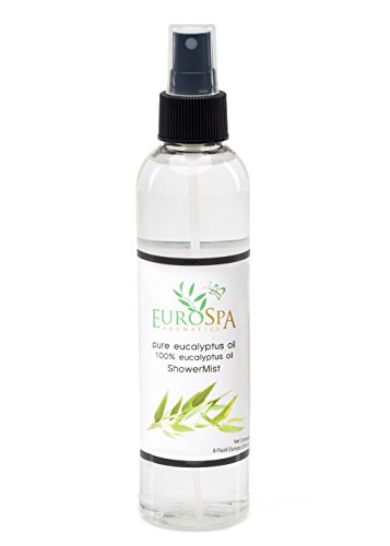Eucalyptus Oil Shower Mist and Steam Room Spray - 8 Ounce (Eucalyptus Oil For Steam Room compare prices)