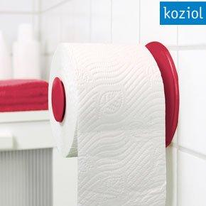 Koziol Plug n Roll Toilet Paper Holder
