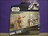 Star Wars Ahsoka Tano and Clone Trooper Scythe double figure pack