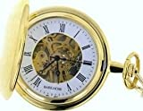 Mens Stainless Pocket Watch by Bariloche Pocket Watches 65540GP-W2