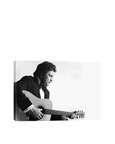 Retro Images Johnny Cash #15 Archive Gallery-Wrapped Canvas Print