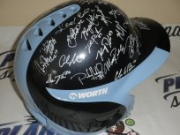 North Carolina UNC Tar Heels team signed baseball helmet Colin Moran Kent Emanuel... by Planet Signatures