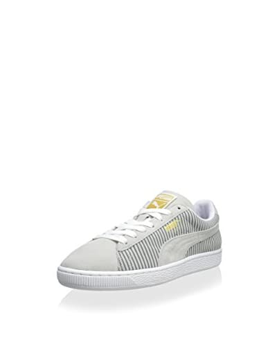 PUMA Women's Suede Classic Lo Blocks and Stripes Sneaker