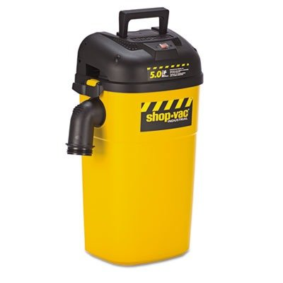 Shop-Vac - Wall Mount Vac, 5gal Capacity, 17lb, Yellow/Black 3942010 (DMi EA