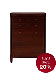 Sutton 4+3 Drawer Chest