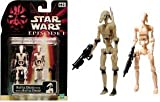 Star Wars Episode 1 Battle Droid and BONUS Battle Droid 2 pack