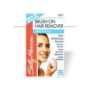 Sally Hansen Brush-On Hair Remover, Creme for Face, 1.7 oz.