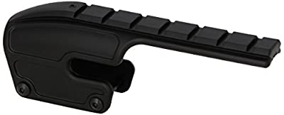 Weaver 48340 No-Gunsmith Converta Shotgun Mount - Remington 870, 1100, and 1187 (12 and 20 Gauge) Gloss Black from Vista Outdoor Sales LLC