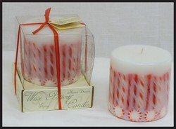 Christmas Cinnamon - Scented Decorative Holiday Candle - 4