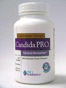 Pro Symbiotics Candida Pro 120 Caps