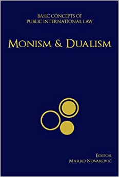 discussion about monism and dualism in Discussions of monism and dualism in these two works are very similar i begin by introducing th doctrinese of monism and dualism and discussing briefly a recent court casethat illus trates them (section 2.