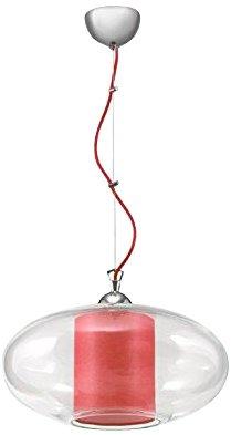 Lampex 339/1 cze Hängeleuchte Ufo, rot