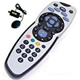PHILIPS SKY PLUS REMOTE REV 9 WITH GLOBAL MAGIC EYE IN BLACK