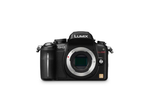 Panasonic Lumix DMC-GH2EB-K 16MP Micro System Camera Body with Full HD Movie - Black