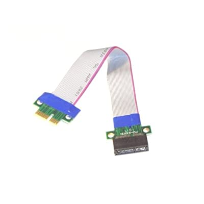PCI-E Express 1X Riser Card with Flexible Cable