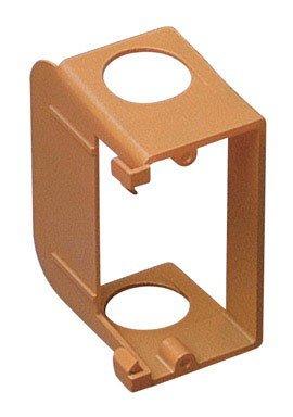 Carlon Sc100Sc Outlet Box Low Voltage Bracket, Add-On, 1 Gang, 3.68-Inch Length By 1.8-Inch Width, Orange