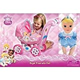 Disney My First Princess Royal Pram with Doll Combo Set