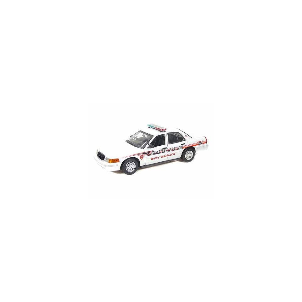 Ford Crown Victoria West Warwick, RI Police Car 1/18