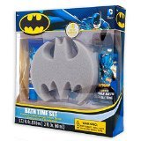 New DC Comics Batman Bath Time Set Bubble Bath Body Lotion Sponge Decals Shower - 1