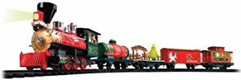 ZTEC Battery Operated Wireless Remote Christmas Train Set