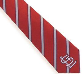 St. Louis Cardinals Woven Polyester Necktie at Amazon.com