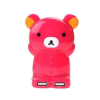 Happy Bear Power Bank 4000Mah Yl0026 Brown