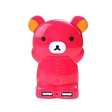 Happy Bear Power Bank 4000Mah Yl0026 Brown
