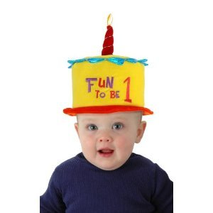 Elope Inc.  Toddler B'day Fun to be 1 Hat