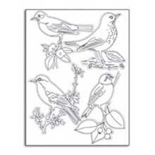 Martha Stewart Crafts Stamp, Birds