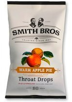 Smith Brothers Cough Drops - Warm Apple Pie With Cinnamon Flavor Beads - Throat Drops - 30 Drops Per Package - Pack of 2 (60 Drops Total) (Smith Brothers Apple Pie compare prices)