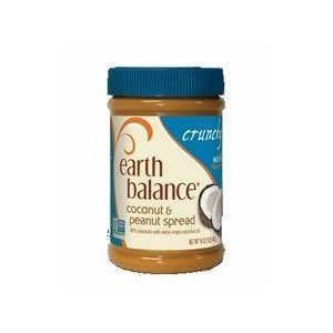 Earth Balance Crunchy Coconut Peanut Butter (12x16 OZ) ( Value Bulk Multi-pack)