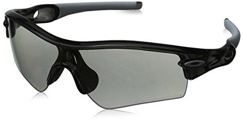Oakley Men's Polarized Radar-Path 26-213 White Wrap Sunglasses