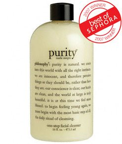 philosophy | purity made simple | one-step daily facial cleanser