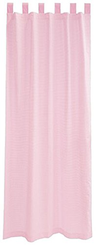 "Seed Sprout 2 Piece Curtain Panels, Gingham/Pink, 63"" - 1"