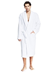 Luxury Cotton Rich Towelling Dressing Gown