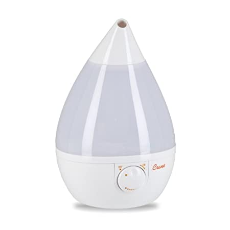 Crane Drop Shape Cool Mist Humidifier (White) $33