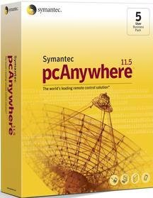 5pk Pcanywhere 11.5 Host and Remote Retail