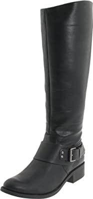 Jessica Simpson Women's Beatricy Riding Boot,Black Noble,5 M US