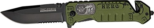 Rangers Amblum Hero Spring Assist Rescue Knife