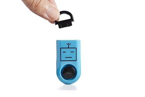 ROBOCOPP SOS Personal Alarm, Original Sound Grenade, Battery Included, Carabiner Included, Blue