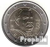 Italia 2012 Stgl./unzirkuliert 2012 2 Euro giovanni Pascoli (monedas para los coleccionistas)