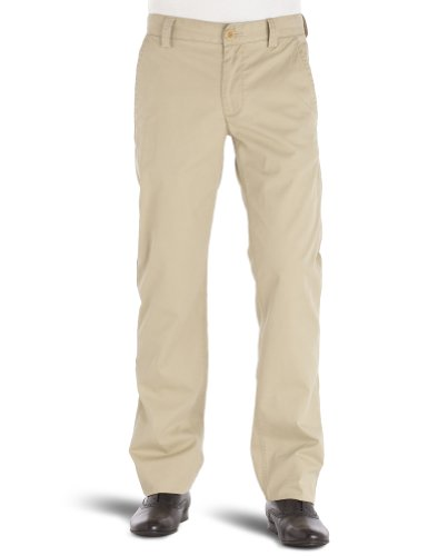 Timberland Caldsbrook Twill Chino Straight Men's Trousers Sand W36 INXL34 IN