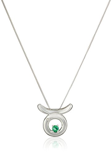 sterling-silver-created-emerald-and-diamond-accent-taurus-pendant-necklace-18
