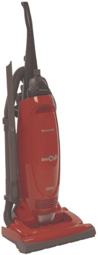 """Panasonic - Upright Vacuum *** Product Description: Panasonic - Upright Vacuum 12A Motor 15"""" Cleaning Path Automatic Carpet Height Adjustment Auto Cord Winder Optional Hepa Filter Includes On-Board Tools 1-Year Warranty 24Ft Cord *** front-624171"""