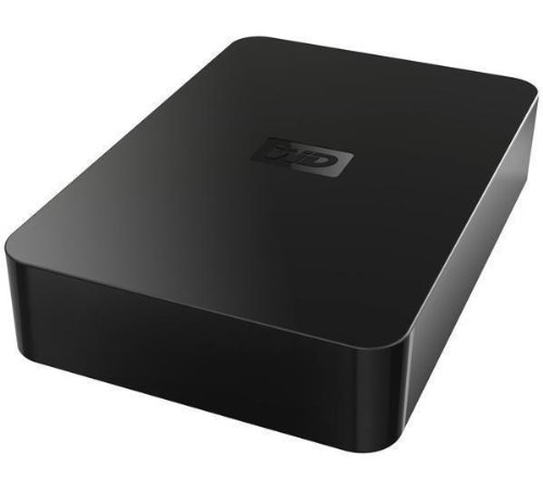 Storage - 3.5-inch external hard drive - WD Elements Desktop 2 TB USB 2.0 External Hard Drive - black 718037751979 (WESTERN DIGITAL)