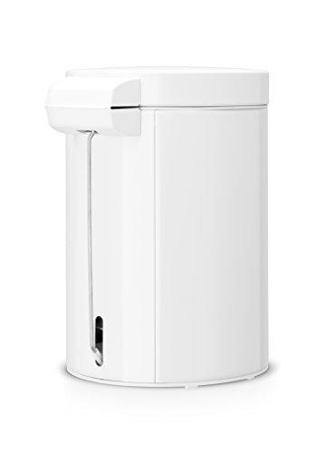 brabantia step trash can 0 7 gallon 3 liter white home garden household supplies waste. Black Bedroom Furniture Sets. Home Design Ideas