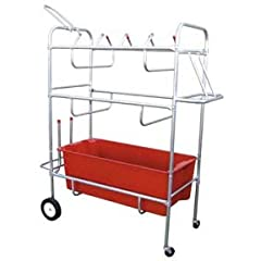 EZ-Roll Hockey Equipment Cart by Olympia Sports